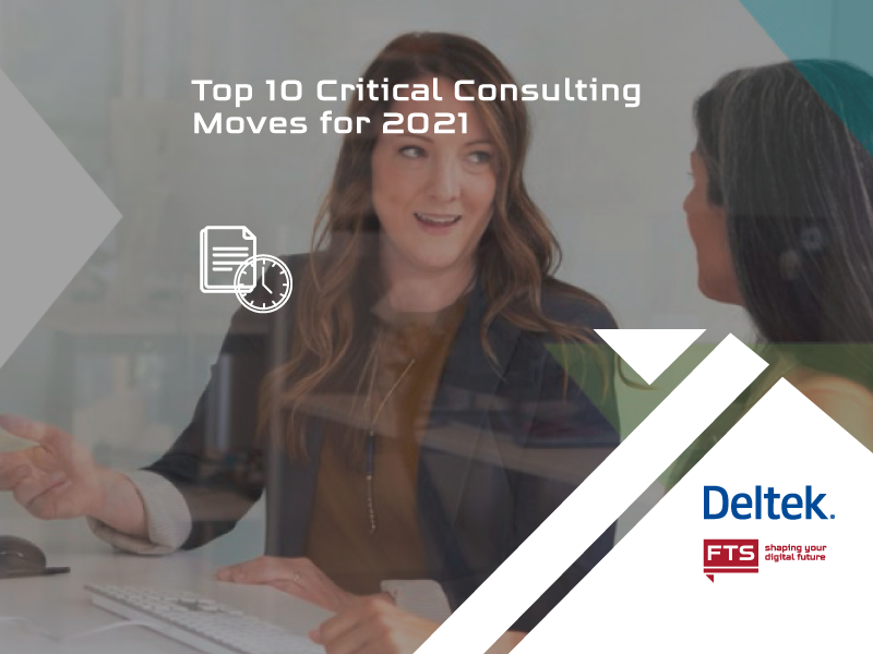 Picture for a checklist for consulting firms from experts of Professional Services Automation with 10 critical actions in the new market of 2021