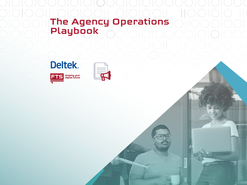 Picture for a playbook with key areas for improving of agencies' operations