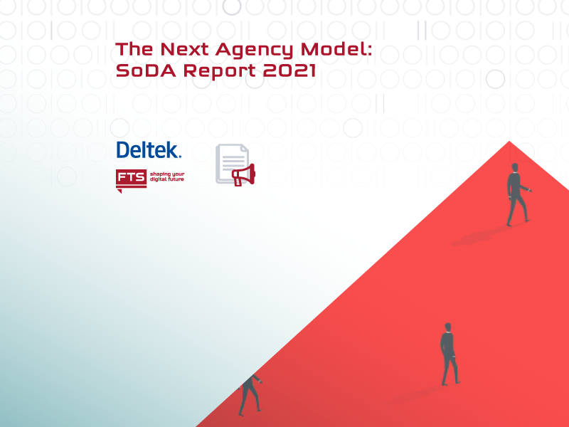 Picture to a SoDA report about future of agency business model