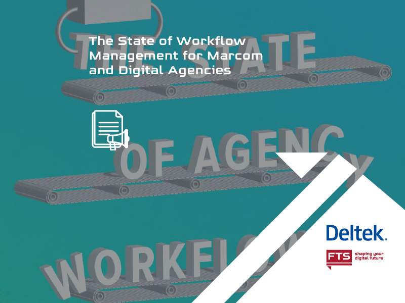 Picture to the SoDA report on the state of workflow management in digital and marcom agencies