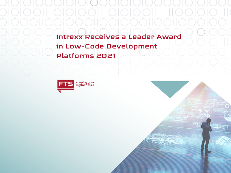 The-Picture-for-the-news-that-Intrexx-Receives-a-Leader-Award-in-Low-Code-Development-Platforms-2021-Code-Development-Platforms-goes-to-Intrexx